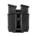 FAB DEFENCE POLYMER RETAINABLE DOUBLE MAGAZINE POUCH PG-9