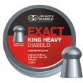 ΒΛΗΜΑΤΑ JSB DIABOLO EXACT KING HEAVY 6.35mm 300ΤΜΧ