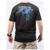 SPECIALFORCES.GR - Μπλουζάκι 5.11 TACTICAL  Camo Logo 41006BG