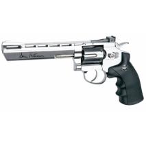 ΑΕΡΟΒΟΛΟ ASG Dan Wesson 6'' Revolver 4.5mm Silver